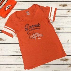 Tops - Broncos Vneck Shirt